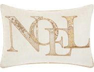 shop Sequin Noel 18x12 Pillow