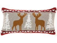 shop Holiday Deer 24x12 Pillow