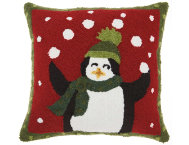 shop Juggling Penguins 18x18 Pillow