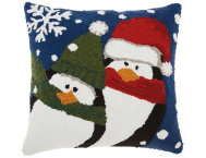 shop Cozy Penguins 18x18