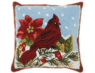 shop Cardinal & Holly 18x18 Pillow