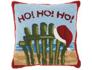 shop Ho Ho Ho Beach 18x18 Pillow