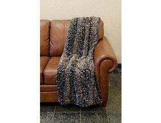 Solon Faux Fur Throw Blanket, , large