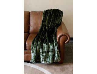 Pownal Faux Fur Throw Blanket, , large