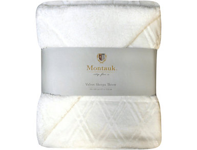 Montauk Diamond Velvet Throw, , large
