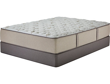 Natura Elm Full Extra Long Mattress Low Profile Foundation Set, , large