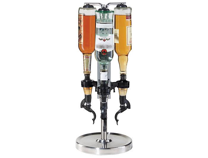 3 Bottle Revolving Liquor Disp, , large