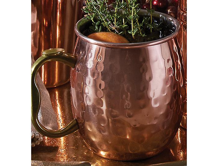 Hanmered Moscow Mule Mug, , large