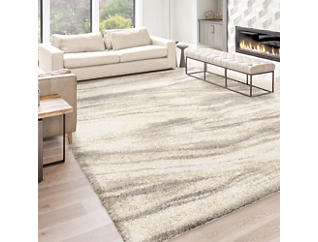"Simplistically State Beige 8 "" x 10 "" Rug, , large"