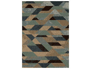Magestic Branson Blue 7x10 Rug, , large