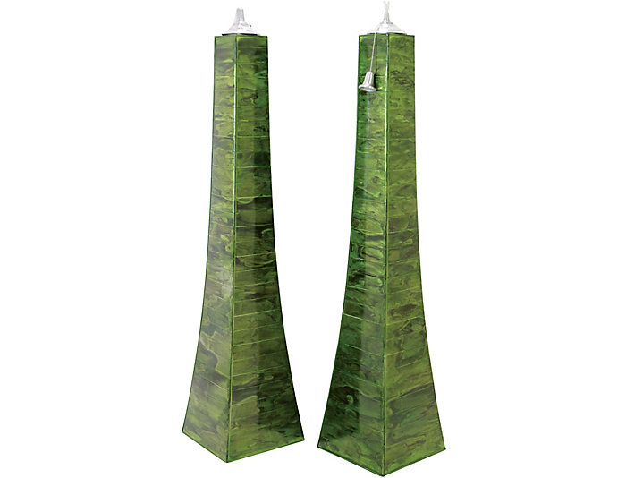 Tall Pyramid Torch, , large