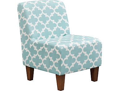 Amanda Canal Accent Chair, , large