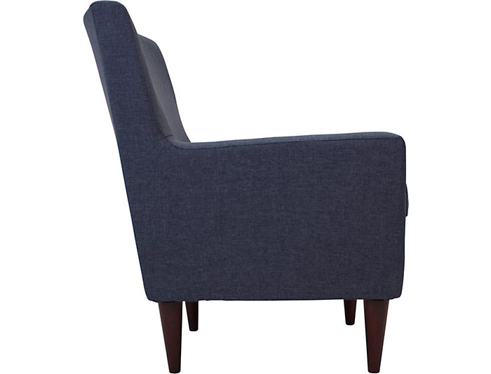 Emma Navy Accent Chair, , large