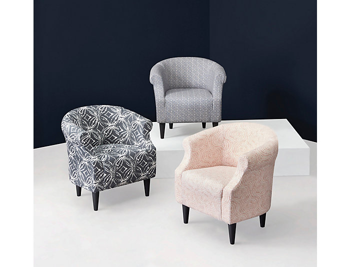 Remarkable Nikole Cello Blue Printed Accent Chair Forskolin Free Trial Chair Design Images Forskolin Free Trialorg
