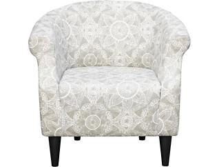 Nikole Driftwood Accent Chair, , large