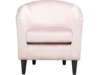Windsor Luxe Rose Accent Chair, Pink, large