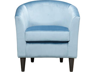 Windsor Luxe Teal Accent Chair, Teal, large