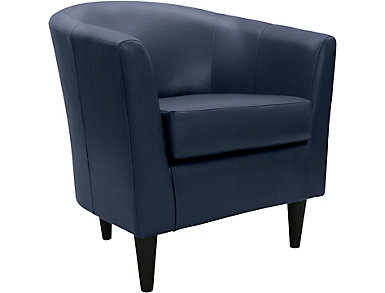 Windsor Accent Chair, Peacock Blue, , large