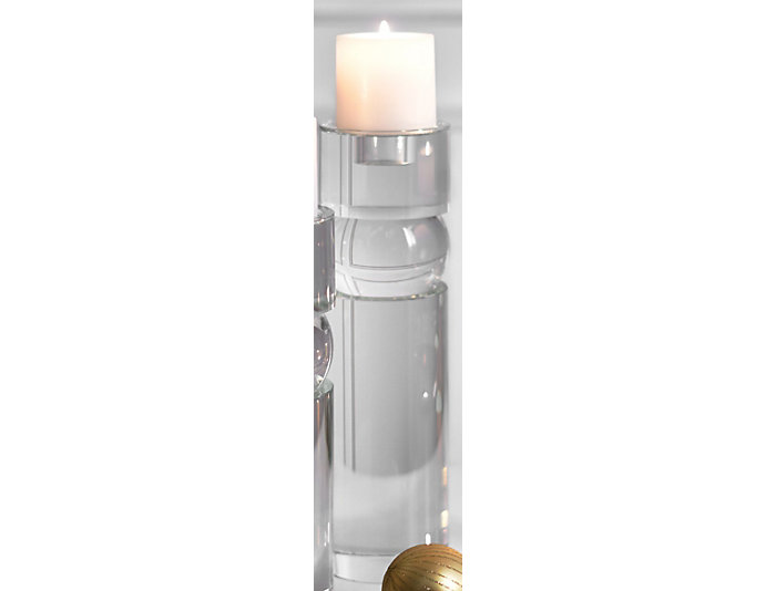 Crystal Large Candle Holder, , large