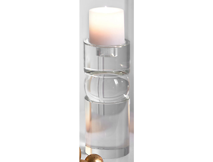 Crystal Small Candle Holder, , large