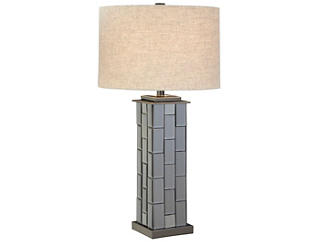 Mosaic Mirror Table Lamp, , large