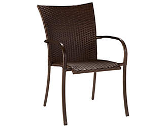 Percy Woven Stack Chair