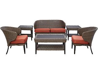 Tacoma 6PC Seating Set, , large