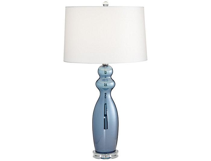 Tagus Slate Blue Table Lamp Large