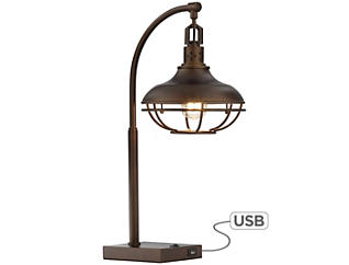 Millenial Bronze Table Lamp, , large