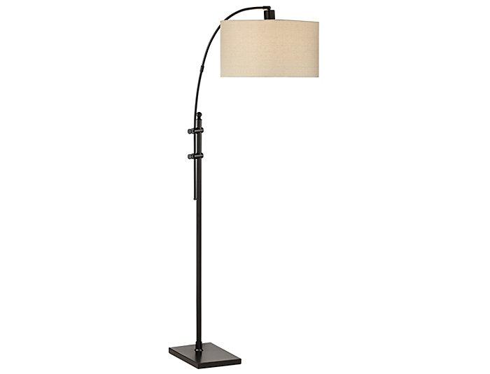Spotlight Black Floor Lamp, , large