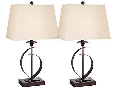 Novo Table Lamp Set of 2, , large