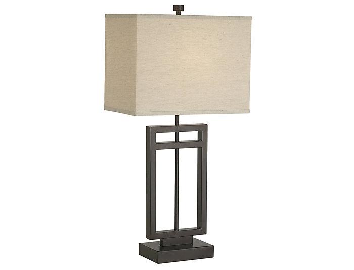 Central Loft Bronze Table Lamp, , large