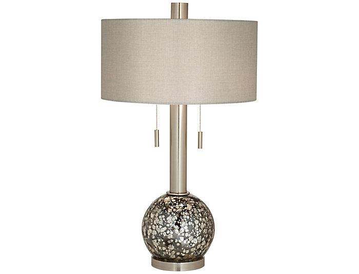 Empress Nickel Table Lamp, , large