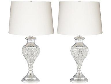 Glitz and Glam Lamp Set of 2, , large