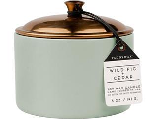 Wild Fig & Cedar 5oz Candle, , large