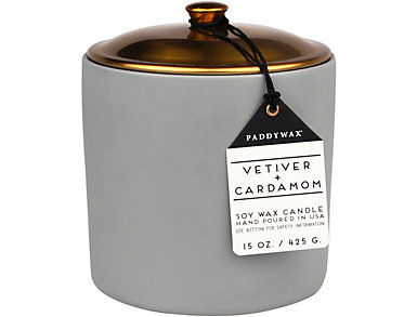 Vetiver & Cardamom 15oz Candle, , large