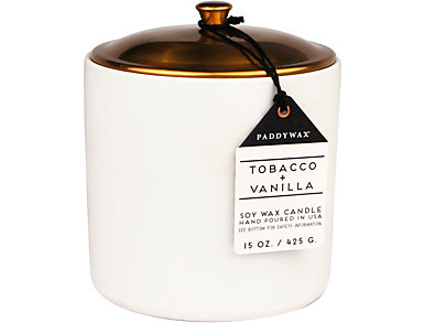 Tobacco & Vanilla 15oz Candle, , large