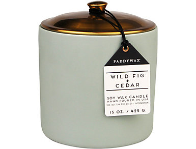 Wild Fig & Cedar 15oz Candle, , large