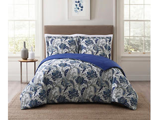 Bettina King Comforter 3 Piece Comforter Set, , large