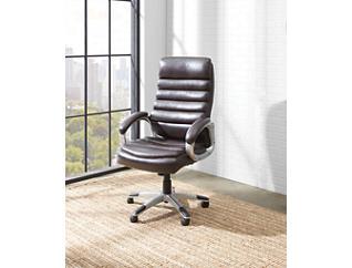 Brockton Java Desk Chair, Black, large
