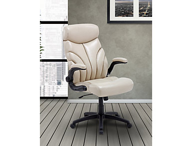 Orion Creme Desk Chair, , large