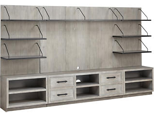 """Billboard Wall with 64"""" TV Stand, , large"""