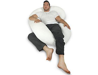 Men's Body Pillow-White, , large