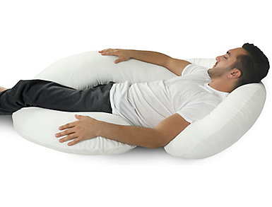C-Shape Full Body Support Pillow, , large