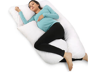 U-Shape Body Pillow with Cotton Cover, , large