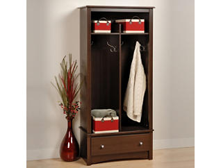 Chadwick Brown Entry Storage, , large