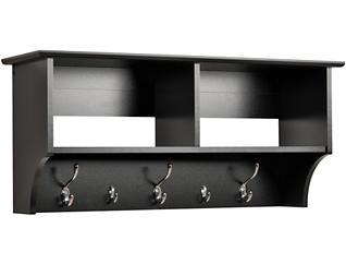 "Apex 36"" Black Entry Shelf, , large"