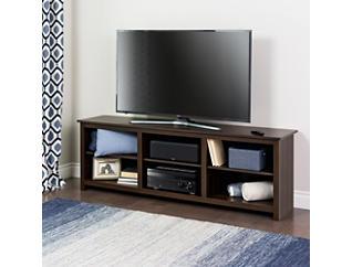 "Sabal  72"" Brown TV Stand, Brown, large"
