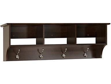 "Apex 48"" Brown Entry Shelf, , large"