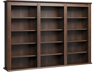Cook Brown Media Wall Storage, , large